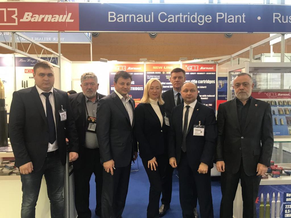 ФПСР и Барнаульский патронный завод продолжат развивать партнёрство
