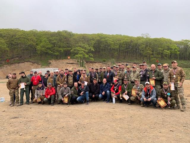 Руководители ФПСР приняли  участие в Чемпионате Приморского края по практической стрельбе из пистолета