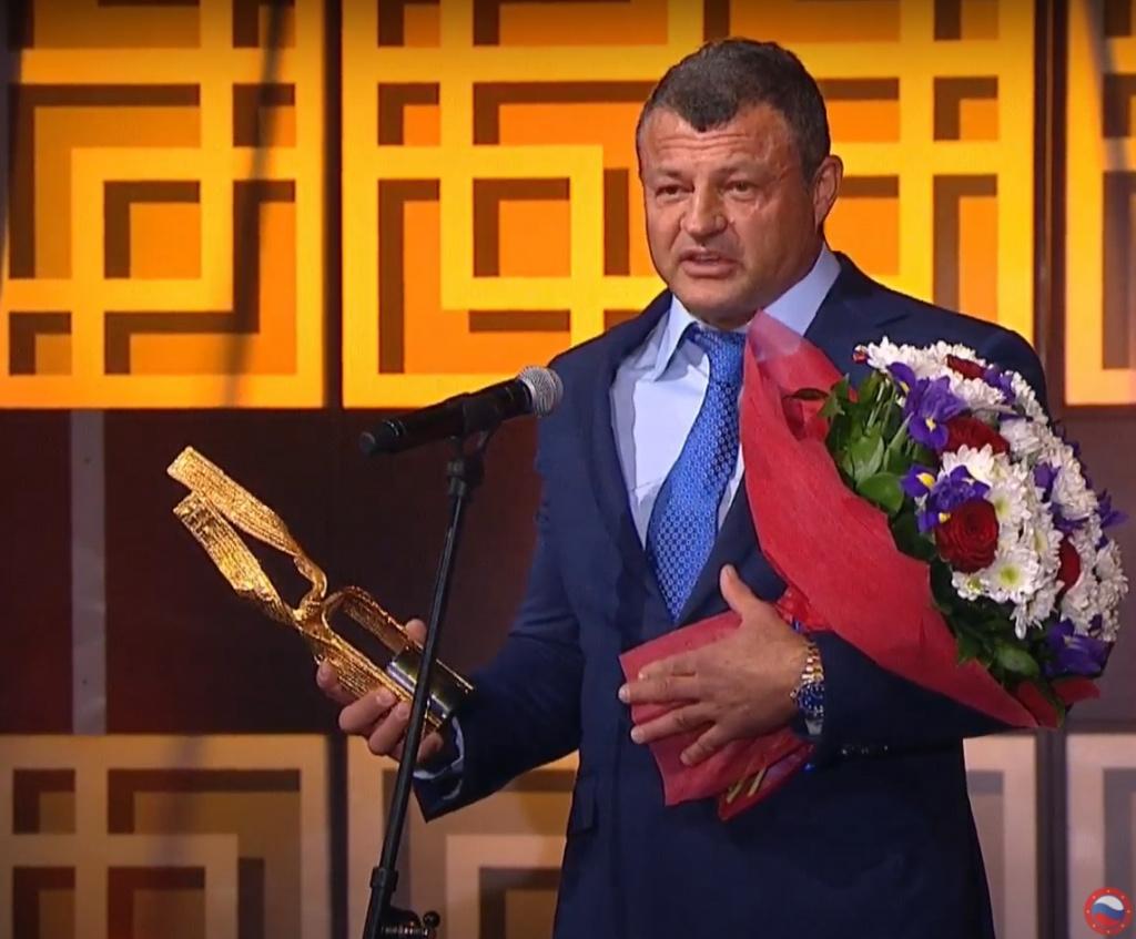 Михаил Гущин стал лауреатом премии {171}Золотой пояс{187}